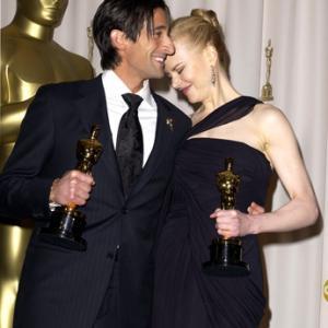 Nicole Kidman and Adrien Brody