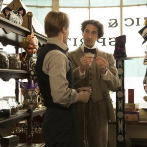 Still of Adrien Brody and Evan Jones in Houdini (2014)