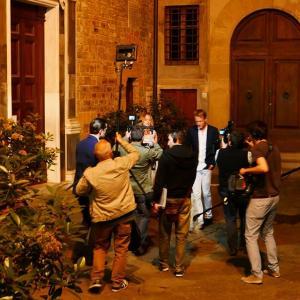 Nicola Vitale Materi Producer on the set