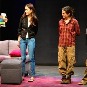 Pablo Cruz Guerrero, Cecilia Suárez, Karla Souza and Luis Rosales at event of Love Song (2012)