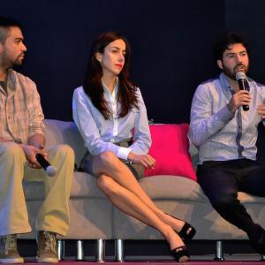 Luis Rosales, Cecilia Suárez and Pablo Cruz Guerrero at event of Love Song (2012)