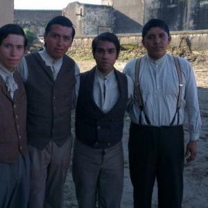 Luis Rosales filming Cinco de Mayo La Batalla (2012)