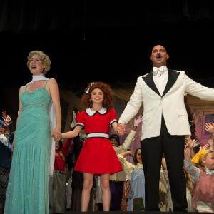 Ashlen starring as Annie in April 2015 with Terrace View Productions