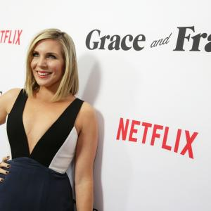 June Diane Raphael at event of Grace and Frankie (2015)