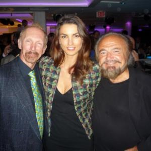 Adam with actress Jessiqa Pace and director Celik Kayalar at the Independent Film Quarterly Festival Awards Ceremony in Beverly Hills We won the award in the Best Short Narrative category for Kayalars film 99