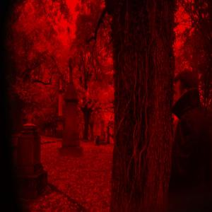 Drac Von Stoller sees his world as blood red