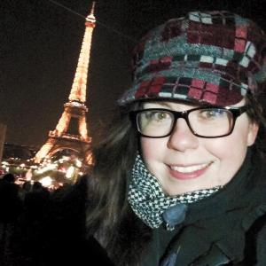 Paris Selfie I wanted to post this because Im not smiling in the other ones