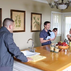 Still of Guillermo Daz George Newbern and Jasika Nicole in Scandal 2012
