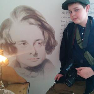 At the Charles Dickens Museum London