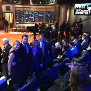 The Celebrity Apprentice Season Finale Live Recording Rick Nechio and NBC Producers