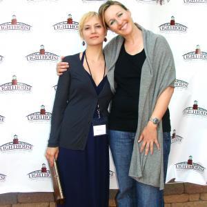 LBI Film Fest with my lovely step daughter Angela De Rosette