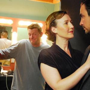 Nina Zavarin and Konstantin Lavysh - On the set of Nord Express with Ross Williams - Hairstylist Extraordinaire (and Tamara Belousova)