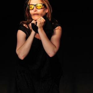 Nina Zavarin doing Jazzo at Paper or Plastik, LA - Jacob Michelson, Creative Director