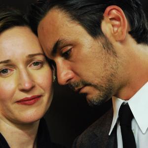 Nina Zavarin with Konstanin Lavysh - great acting partner, artist, gentleman