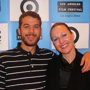 Los Bastardos at LA Film Fest 09 with Martín Escalante and Nina Zavarin