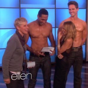 Ellen Degenerous show with Nicole Richie