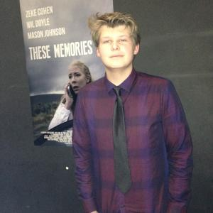 Greg Foltynowicz at These Memories Premiere