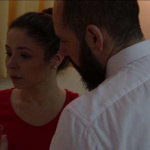 Renata Bosi anda Rafael Santin,