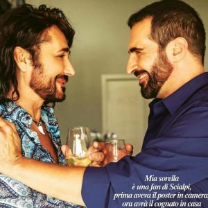 Roberto Blasi Actor Singer . Italian Newspaper Photo